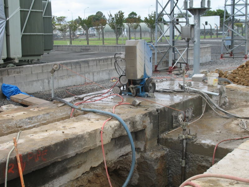 Wire Sawing | Allied Concrete Cutters and Drillers Ltd